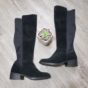 London Fog Cassiopeia Suede Over The Knee Boot 9